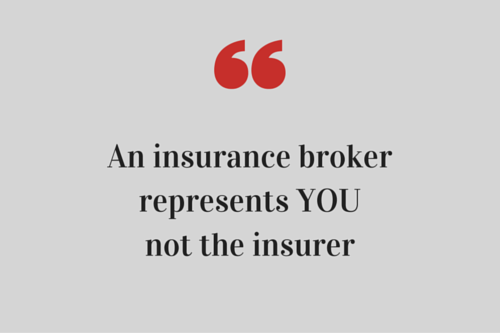 Driessen Insurance Broker represents YOU  and works with the insurer